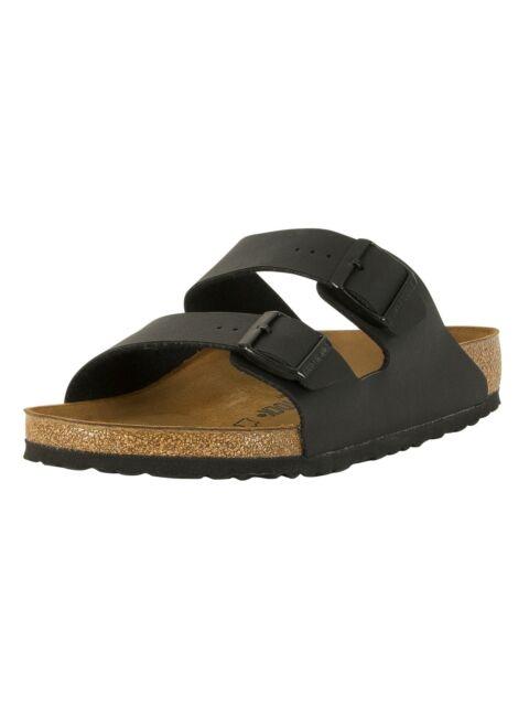 Birkenstock Men's Arizona Birko-Flor Sandals, Black