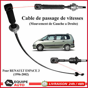 CABLE-DE-SELECTION-VITESSES-pour-RENAULT-ESPACE-III-3-COMMANDE-DE-VITESSE