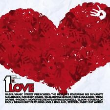 1 Love-NME & War Child pres. (2002) Starsailor, Feeder, Sugababes, Muse, .. [CD]