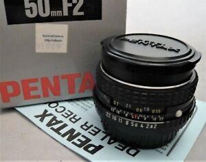Pentax-SMC-M-50mm-f2-Asahi-Optical-Co-Japan-New-Old-Stock