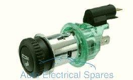 Universal Cargador de alimentación de mechero de coche zócalo 12v 20A Iluminado