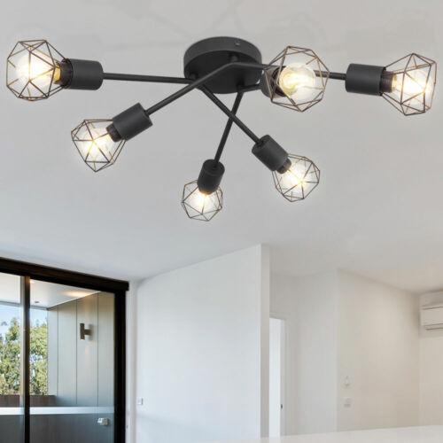 Käfig Decken Leuchten Spot Strahler Leisten Wohn Zimmer Wand Lampen beweglich