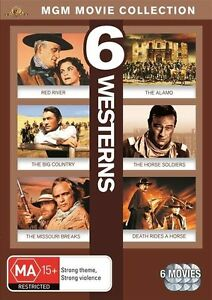 MGM-Movie-Collection-6-Westerns-Red-River-The-Alamo-The-Big-Country-The