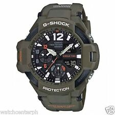 Casio G-SHOCK GA1100KH-3A SKY COCKPIT Aviation Watch OLIVE DRAB 2016 Release MWS