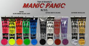 manic panic temporary hair color catalogue image is loading chooseyourmanicpanicdyehardtemporaryhair choose your manic panic dye hard temporary hair color styling gel