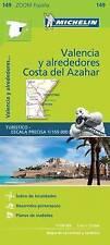 Valencia Costa del Azahar (Michelin Zoom Maps) by Michelin | Map Book | 97820672