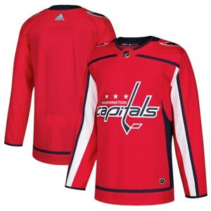 timeless design be7b5 99807 Details about ADIDAS Men's Washington Capitals Red Home Authentic Blank  Jersey - SIZE- 50-NEW