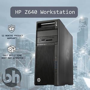 HP-Z640-Workstation-3-50GHz-4Core-CPU-32GB-DDR4-RAM-Barebones