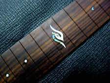 2PCS Std Rose Acoustic Guitar Fretboard With Abalone shell pattern 22 Frets