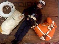 GI Joe Navy Sailor 1964 Patent Pending W Accessories