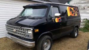 Classic boogie vans