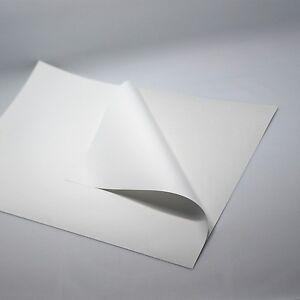 White Sheet A4 Printable Self-Adhesive 10 to 100 Sheet Inkjet LaserJet Free Ship