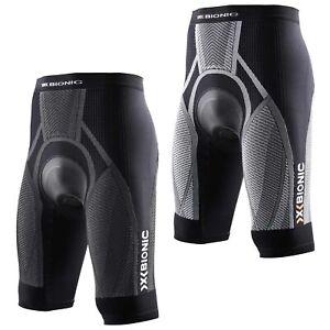 X-Bionic-BIKING-endurance-on-the-tour-pantalon-court-short-Coussin-messieurs