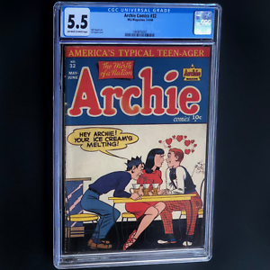 ARCHIE-COMICS-32-1948-CGC-5-5-OW-W-HTF-31-IN-CENSUS-AL-FAGALY-CVR