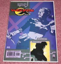 WEAPON X: THE DRAFT - MARROW COMIC BOOK