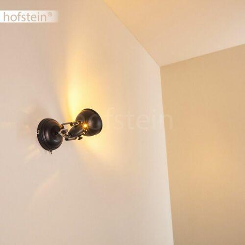 Schlaf Wohn Zimmer Beleuchtung Flur Strahler schwarz//gold Vintage Wand Lampen