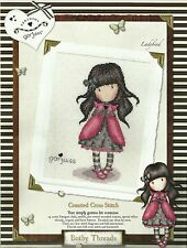 BOTHY THREADS SIMPLY GORJUSS LADYBIRD COUNTED CROSS STITCH KIT NEW 03/2014