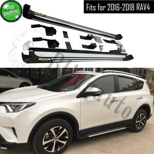 Fits-for-Toyota-RAV4-2016-2017-2018-side-step-nerf-bars-running-board-car-pedal