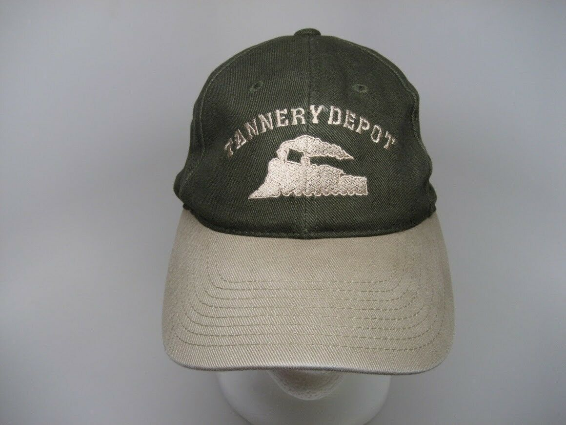 Port Authority Tannery Baseball Cap Hat - Tannery Authority Depot with Logo  - 100% Cotton One Size 3f8482 7c6441c967