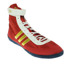 bd4e3ad7ea2aa2 item 4 Adidas Men s Combat Speed 4b Wrestling Athletic Shoes Red Gold White  Size 15 -Adidas Men s Combat Speed 4b Wrestling Athletic Shoes Red Gold  White ...
