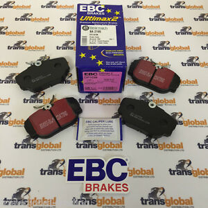 RANGE ROVER P38 1995-2002  2.5 DIESEL FRONT AND REAR BRAKE DISC PADS NEW SET