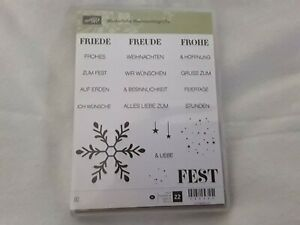 Winterliche Weihnachtsgrüße.Details Zu Stampin Up Stempel Motivstempel Winterliche Weihnachtsgrüße Weihnachten Winter