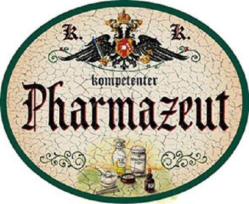 Pharmazeut Nostalgieschild