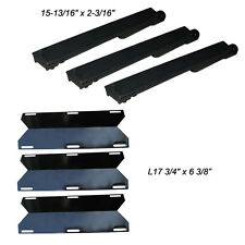 Jenn Air Gas Grill Repair Kit Replacement Grill Heat Plate and Burner - 3 Pack