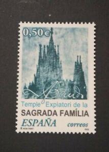 España año 2002 Templo Expiatorio de la Sagrada Familia Nº 3924 MNH