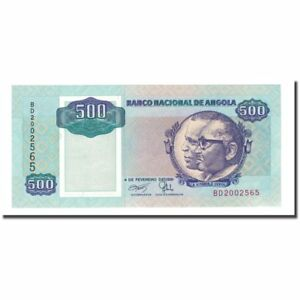 Km:128b Banknote Packing Of Nominated Brand 500 Kwanzas Independent 65-70 #168066 Angola 1991-02-04 Unc