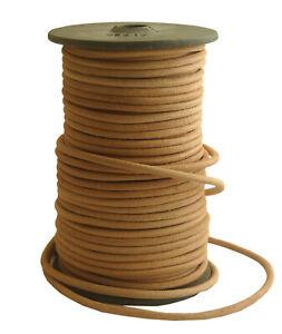 Lederband-rund-4mm-natur-1-50-2-50-m-Lederschnur-Lederriemen-Bueffelleder