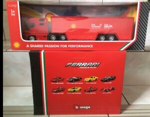 2019-Shell-V-Power-Bburago-Ferrari-Complete-Set