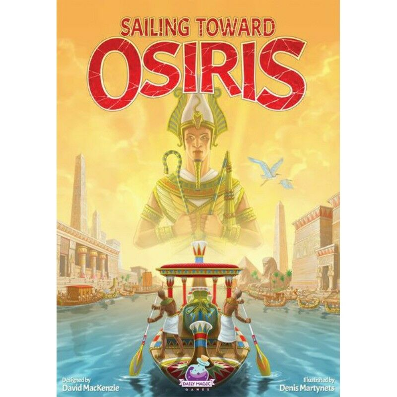 Sailing Toward Osiris Boardgame - New