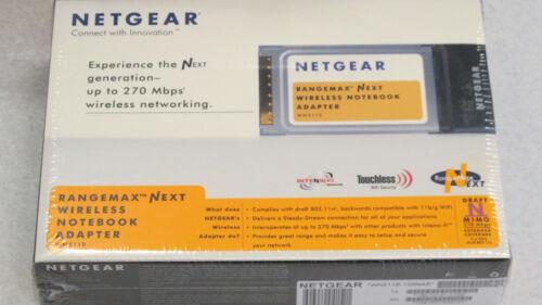 Netgear RangeMax Wireless Notebook Adapter WN511B-100NAS