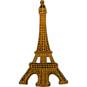Eiffel-Tower-Badge-Embroidery-Patch-Iron-Sew-On-French-Paris-France-Souvenir