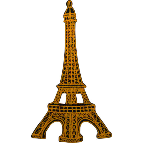 Sew On French Paris France Souvenir Eiffel Tower Badge Embroidery Patch Iron