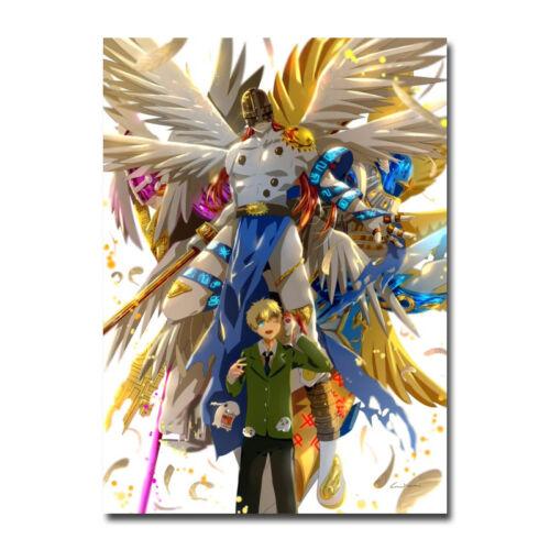 Digimon Adventure Tri Anime Art Silk Poster 13x20 inch Patamon Takaishi Takeru