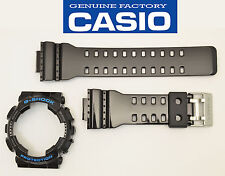 Casio G-Shock Protection GA-110HC GA110HC Watch Band &  Bezel Black Shiny shell