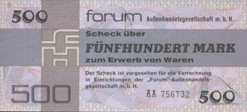 500 DM PICK FX7. UNC GERMANY-DDR