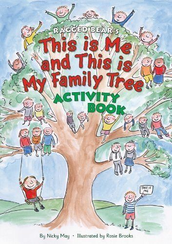 1 of 1 - this is me and this is my family tree: Multi-activity Book brand new