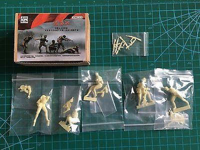 YFWW 1523 1//35 PLA soldiers on the Vietnam War Resin Figure decisive battle