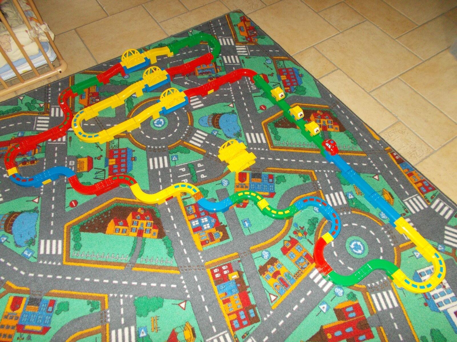 LEGO ® DUPLO chemin de de de fer-minibahn-Grand Set - 3 PONTS, de nombreux rails, etc. 4c9e34
