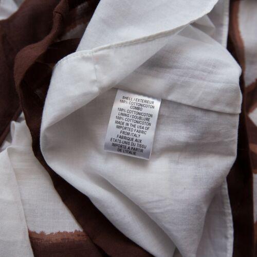 floreale Brown 235 spaghetti cinghia Milly White Us2 Carro della di cotone armato di del nUS4TA0qw