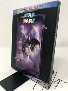 Star Wars Episode Iv A New Hope 1977 Blu Ray Digital Ebay