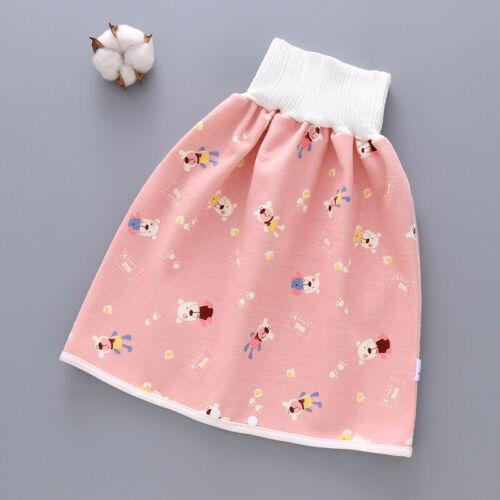 2 in 1 Kinder Baby Kid Windel Rock Hose Bequeme wasserdichte waschbare Shorts