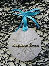 DAYTONA BEACH SAND SAND DOLLAR CHRISTMAS ORNAMENT BEACH SAND TROPICAL