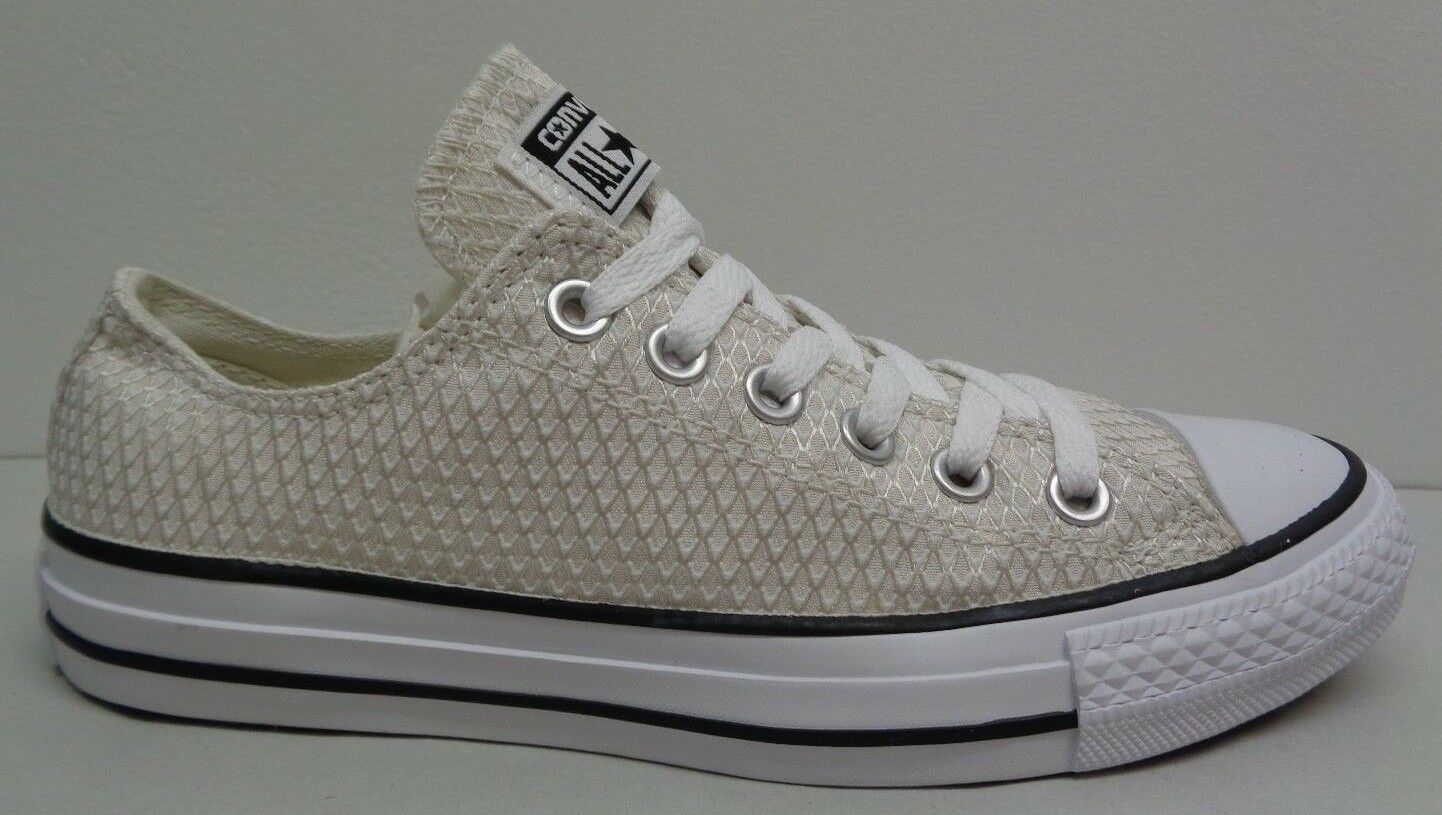 Converse All Star Size 9 SNAKE WOVEN OX White Fashion  New Donna Shoes