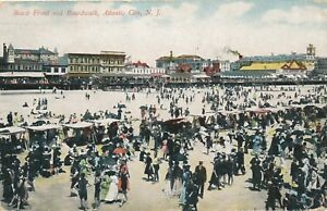 ATLANTIC-CITY-NJ-Beach-Front-and-Boardwalk-1912