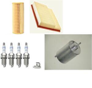 Kit-de-servicio-se-ajusta-a-Mercedes-C-CLASS-CLK-Mann-Aceite-De-Aire-Filtro-De-Combustible-Bosch