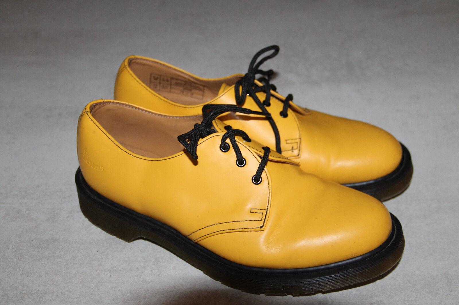 Schuhe di cuoio giallo giallo cuoio DR MARTENS numero 8,5US-6,5UK eccellenti condizioni 77c6aa